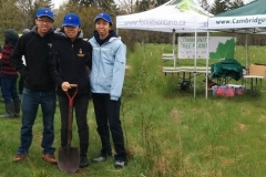 Cambridge Tree Planting volunteer group